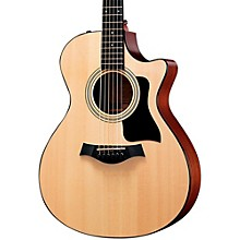Taylor 300 Series 312ce Grand Concert Acoustic-Electric Guitar