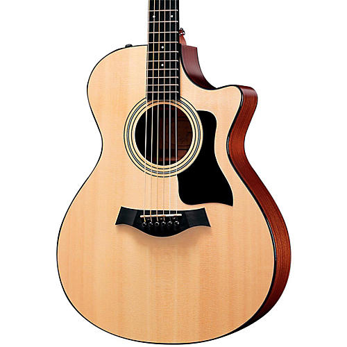 Taylor 300 Series 312ce Grand Concert Acoustic-Electric Guitar Natural