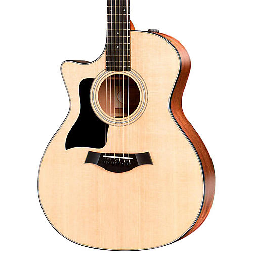 Taylor 300 Series 314ce-LH Grand Auditorium Left-Handed Acoustic-Electric Guitar