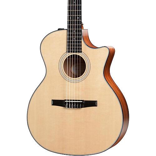 Taylor 300 Series 314ce-N Grand Auditorium Nylon String Acoustic-Electric-thumbnail