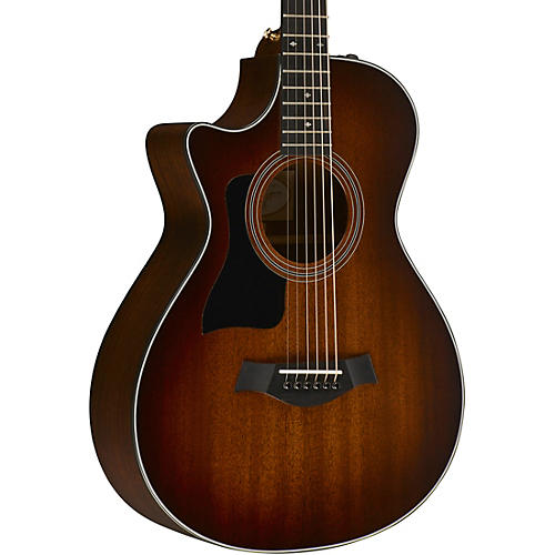 Taylor 300 Series 322ce 12-Fret Grand Concert Left-Handed Acoustic-Electric Guitar-thumbnail