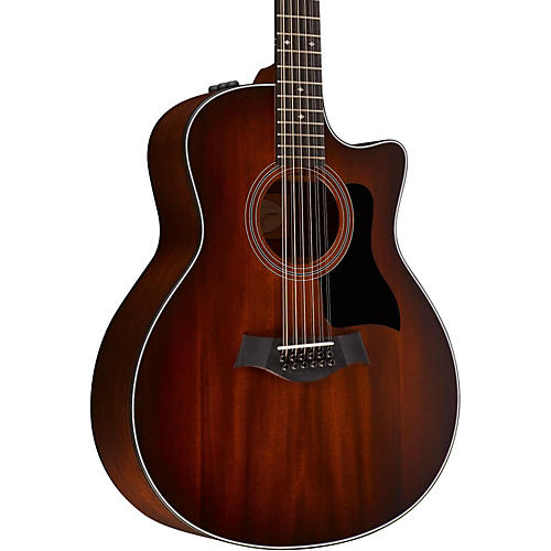 Taylor 300 Series 366ce Grand Symphony Acoustic-Electric Guitar-thumbnail