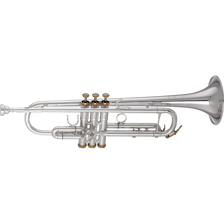 Getzen 3001 Series Artist Model Bb Trumpet 3001 Silver with Gold Trim