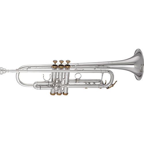 Getzen 3001 Series Artist Model Bb Trumpet Silver