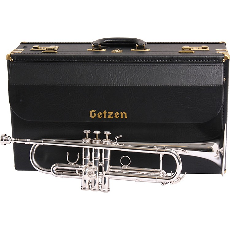 Getzen 3001MV Mike Vax Artist Model Bb Trumpet 3001MVS Silver