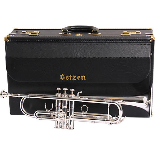 Getzen 3001MV Mike Vax Artist Model Bb Trumpet Silver
