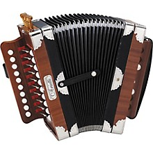 Hohner 3002 Ariette Folk/Cajun Accordion Level 1 Natural Brown