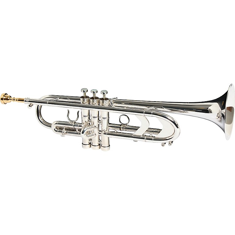 Getzen3003 Genesis Custom Series Bb Trumpet3003S Silver