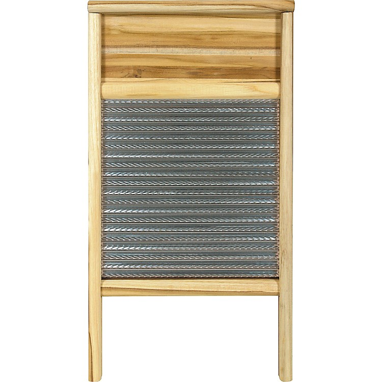 Columbus Washboard 3010 Spiral Metal Washboard Teak 12-7/16x23-3/4 Inches