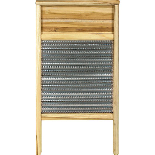 Columbus Washboard 3010 Spiral Metal Washboard Teak 12-7/16x23-3/4 in.