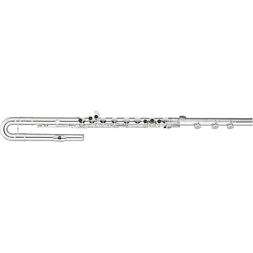 Pearl Flutes 305 Series Bass Flute B Foot, Split E, with Crutch