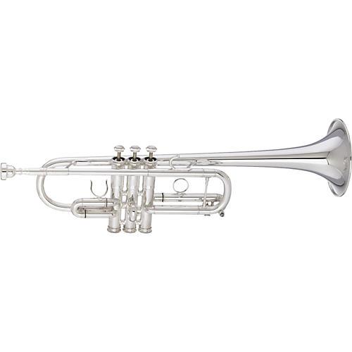 Getzen 3070 Custom Series C Trumpet Silver