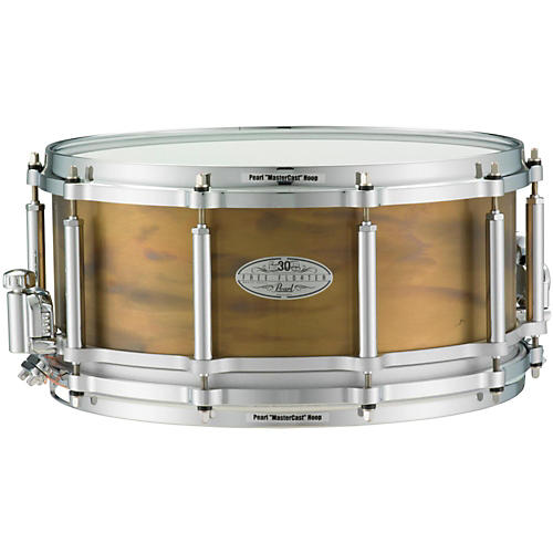 Pearl 30th Anniversary Free Floating Brass Snare Drum