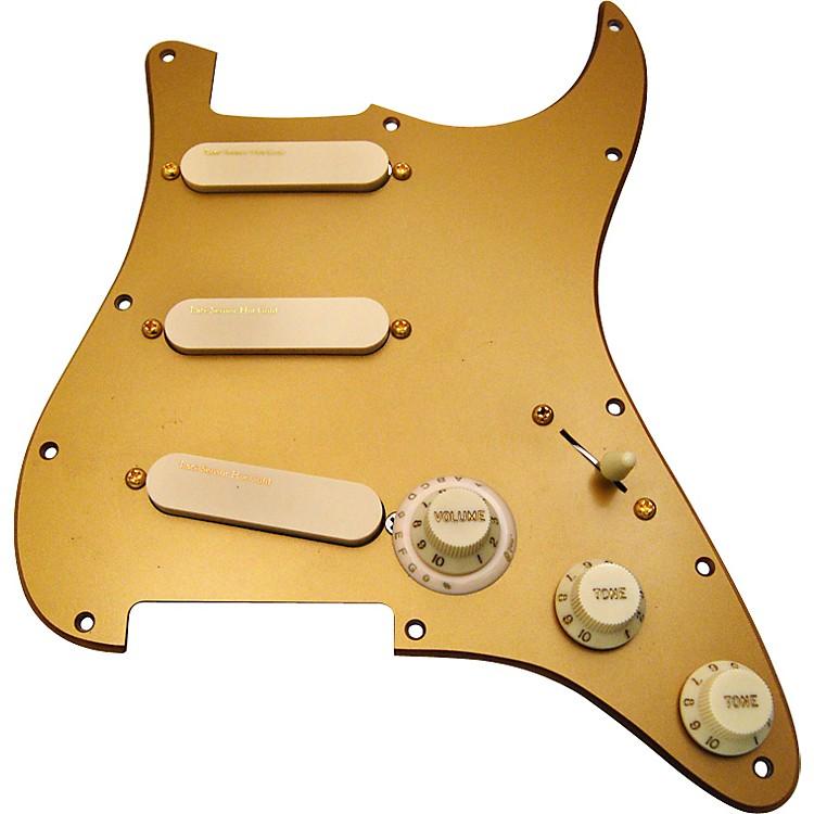 Lace30th Anniversary Hot Gold Sensors Loaded Pickguard