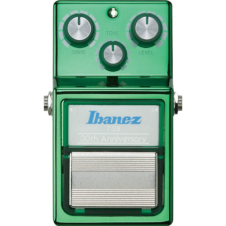 Ibanez 30th Anniversary TS9 Tube Screamer Overdrive Guitar Effects Pedal