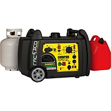 Champion Power Equipment 3100/3400 Watt Portable Dual Fuel-Powered Electric Start Inverter Generator