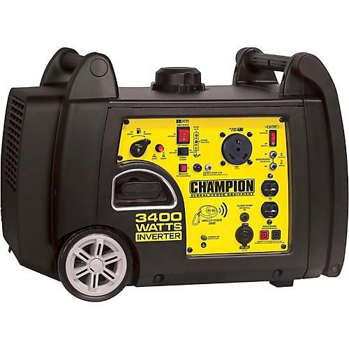 Champion Power Equipment 3100/3400 Watt Portable Gas-Powered Remote Start Inverter Generator-thumbnail