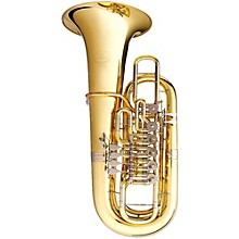 B&S 3100 Series 6-Valve 5/4 F Tuba 3100-L Lacquer Yellow Brass Bell