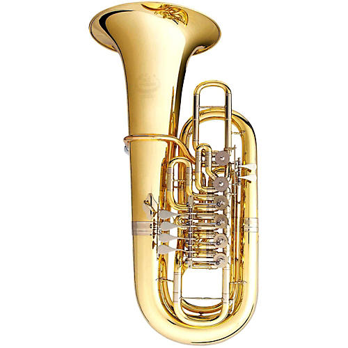 B&S 3100 Series 6-Valve 5/4 F Tuba 3100-L Lacquer Yellow Brass