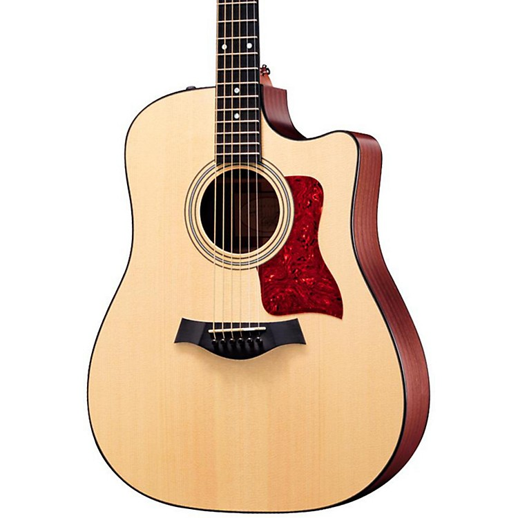 Taylor 310ce Sapele/Spruce Dreadnought Cutaway Acoustic-Electric Guitar Natural