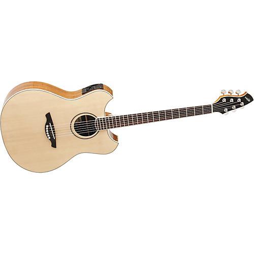 Wechter Guitars 3120T Pathmaker Thin Line Ovankol Acoustic-Electric Guitar-thumbnail