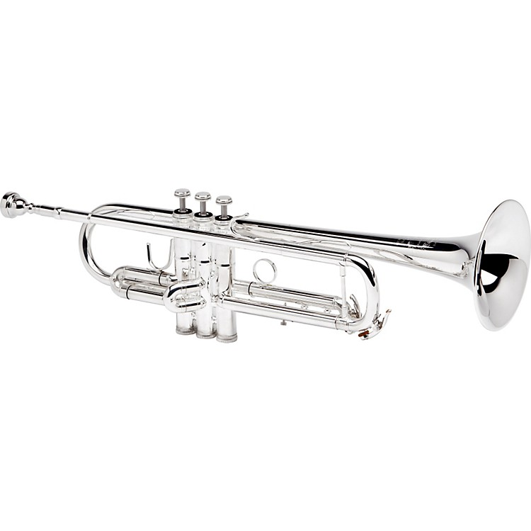 B&S 3143/2-S Challenger II Bb Trumpet Silver Reverse Leadpipe