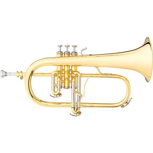 B&S 3145 Challenger I Series Bb Flugelhorn 3145-L Yellow Brass Bell