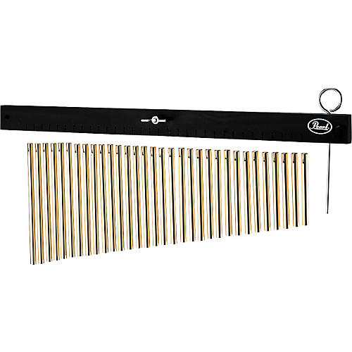 Pearl 32-Bar Gold Windchimes with CH70 Cymbal Holder-thumbnail