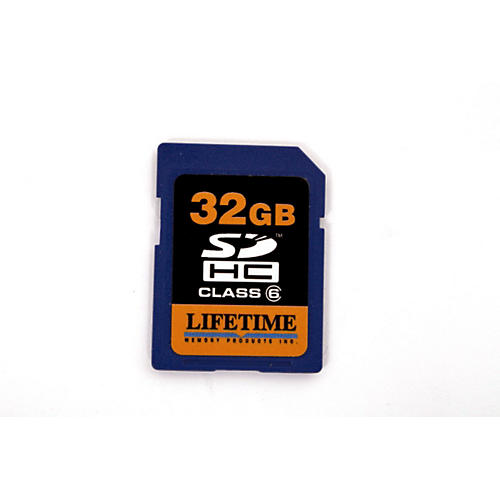 Lifetime Memory Products 32gb secure digital card
