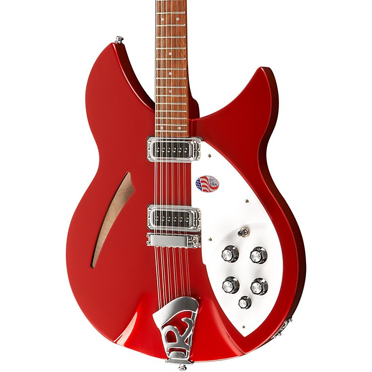 Rickenbacker 330/12 Electric Guitar Ruby Red