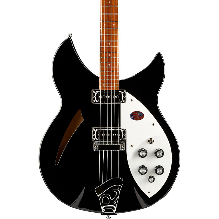 Rickenbacker 330 Electric Guitar Jetglo