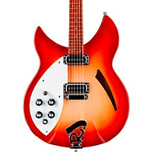330 Left-Handed Electric Guitar Fireglo
