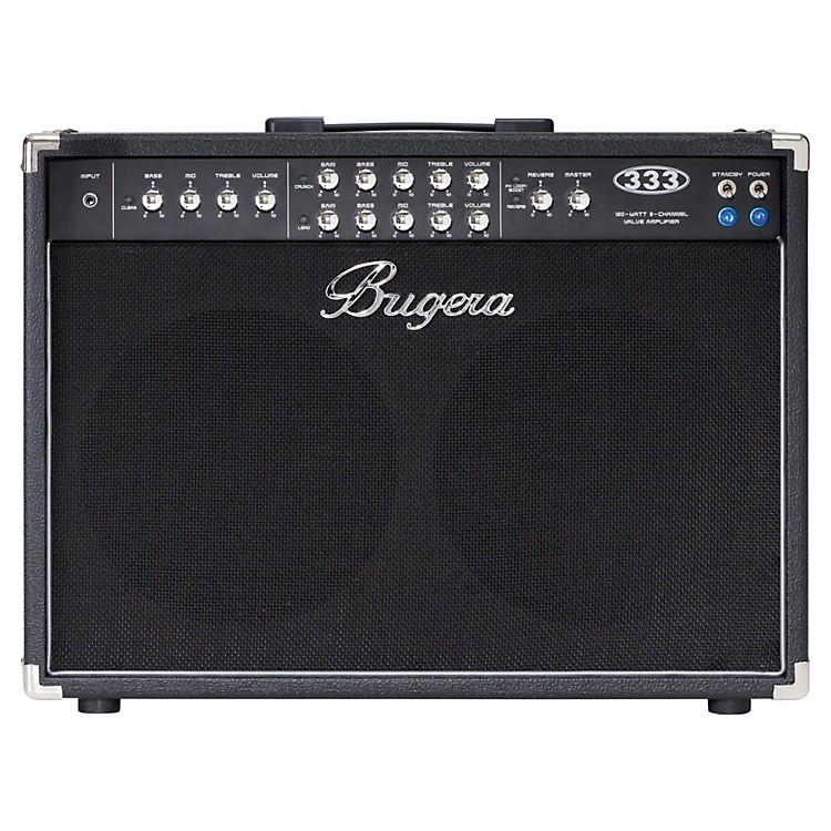 Bugera 333 120W 2x12 3-Channel Tube Guitar Combo Amp with Reverb