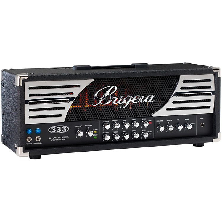Bugera333 Infinium 120W 3-Channel Tube Guitar Amp Head