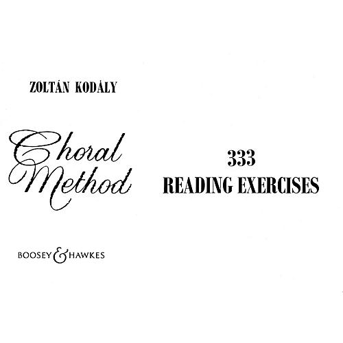 Boosey and Hawkes 333 Reading Exercises Book Composed by Zoltán Kodály
