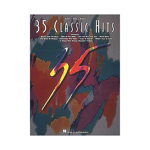 Hal Leonard 35 Classic Hits Piano, Vocal, Guitar Songbook