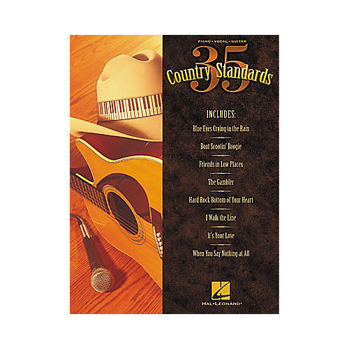 Hal Leonard 35 Country Standards Piano, Vocal, Guitar Songbook