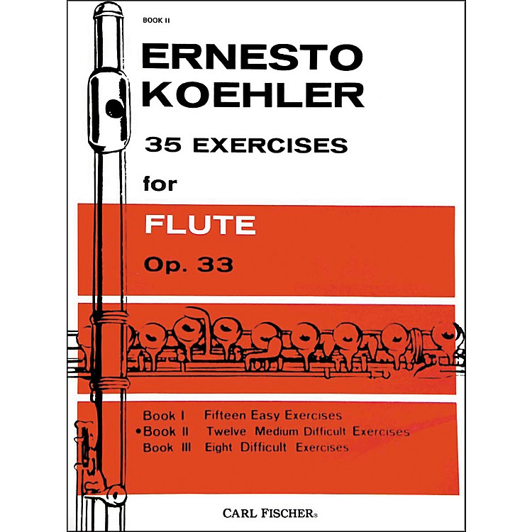 Carl Fischer35 Exercises For Flute
