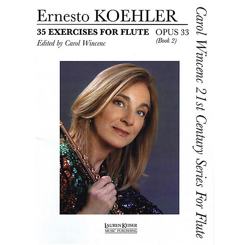 Lauren Keiser Music Publishing 35 Exercises for Flute, Op. 33 LKM Music Series Softcover