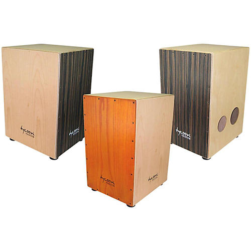 Tycoon Percussion 35 Series Triple-Play Cajon-thumbnail