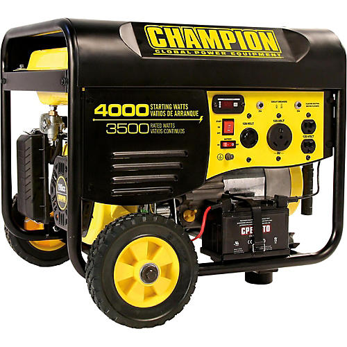Champion Power Equipment 3500/ 4000 Watt Portable Gas-Powered Remote Start Generator-thumbnail