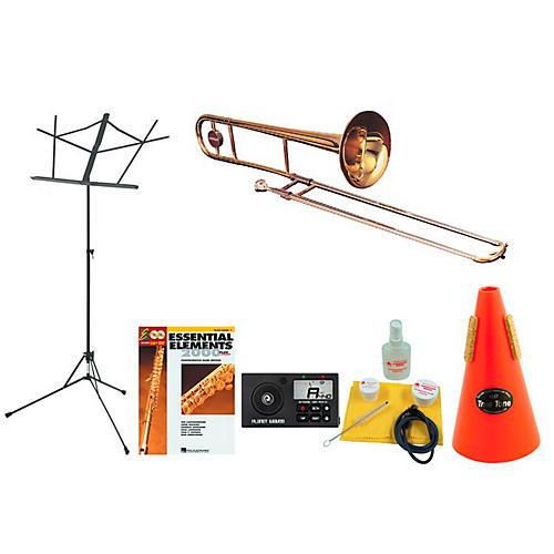 Getzen 351 Beginner Student Trombone Bundle