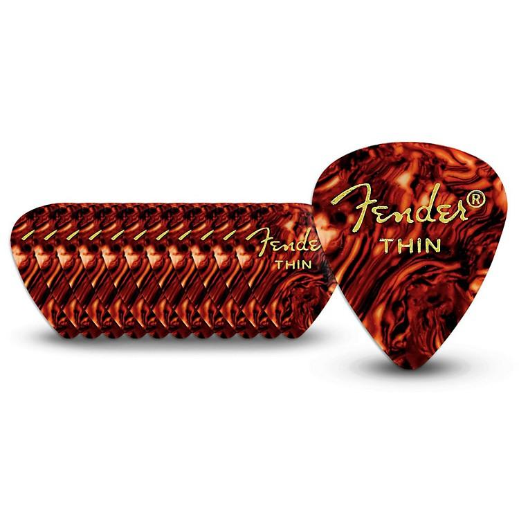 Fender351 Standard Guitar PicksThin1 Dozen