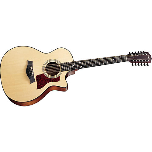 Taylor 354-CE 12-String Grand Auditorium Cutaway Acoustic-Electric Guitar
