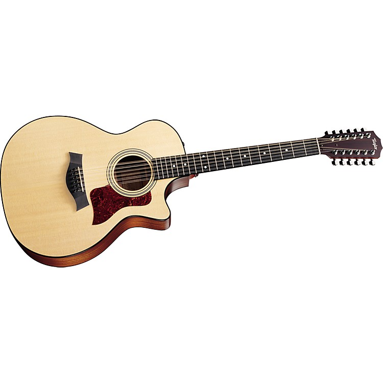 Taylor354-CE 12-String Grand Auditorium Cutaway Acoustic-Electric Guitar