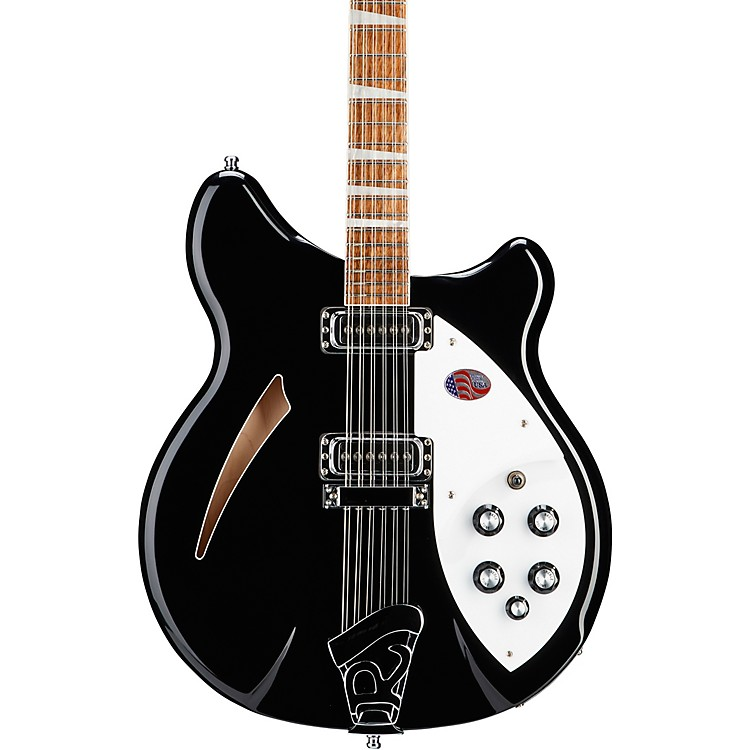 Rickenbacker 360 12-String Electric Guitar Jetglo