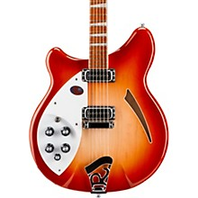 360 Left-Handed Electric Guitar Fireglo