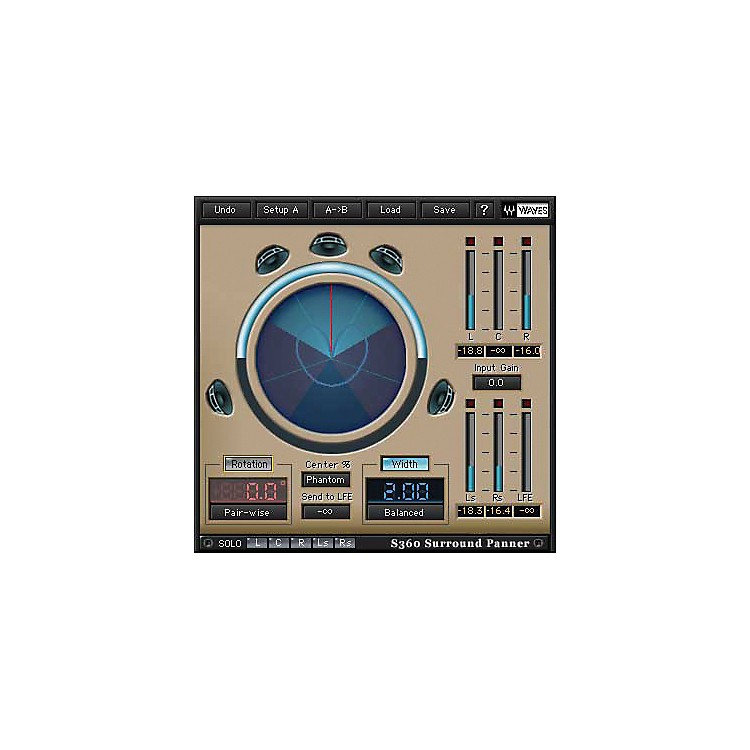 Waves360 Surround Tools TDM/SOUNDGRID LicenseSoftware  Download