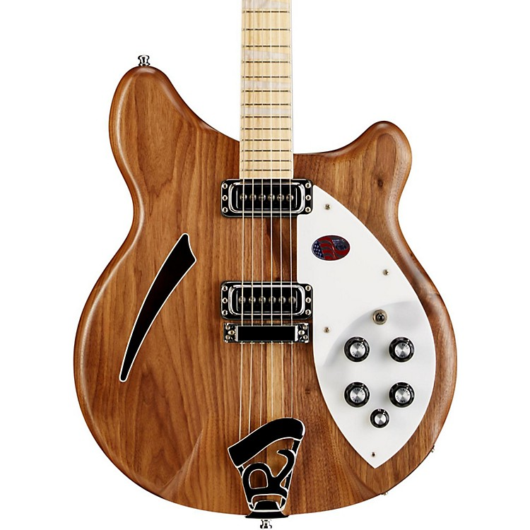 Rickenbacker360W Hollowbody Electric GuitarNatural Walnut
