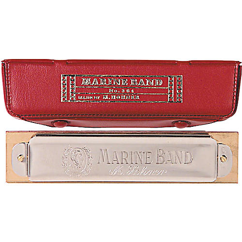 Hohner 364/24 Marine Band Harmonica Key of D